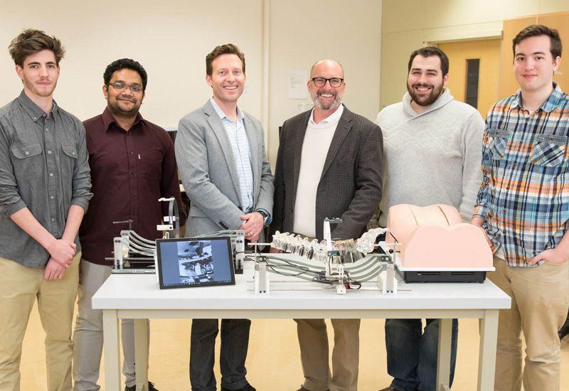 Encoris & GVSU Improve Spinal Surgery Training with Spine Model